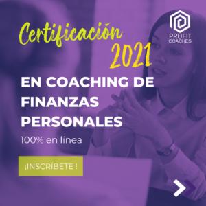 Certificación en Coaching de Finanzas Personales en línea 5ta gen